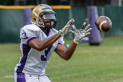 Broughton Football practice. August 6, 2018.