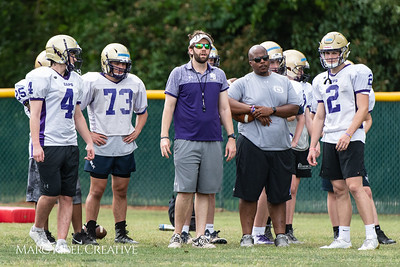 Broughton football spring training. May 18, 2018.