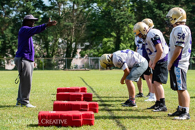 Broughton football spring training. May 22, 2018.