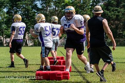 Broughton football spring training. May 22, 2018.