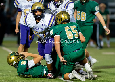 Broughton JV football at Cardinal Gibbons. October 24, 2019. D4S_0987