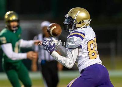 Broughton JV football at Cardinal Gibbons. October 24, 2019. D4S_0970
