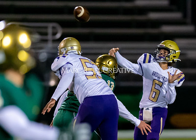 Broughton JV football at Cardinal Gibbons. October 24, 2019. D4S_1023