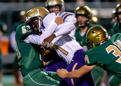 Broughton JV football at Cardinal Gibbons. October 24, 2019. D4S_1019