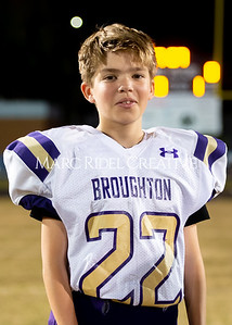 Broughton JV football at Millbrook. November 7, 2019. D4S_6244