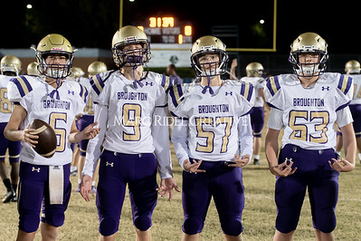 Broughton JV football at Millbrook. November 7, 2019. D4S_6242