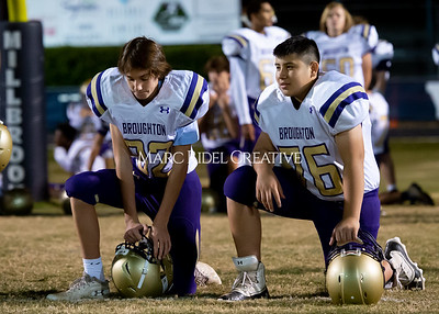 Broughton JV football at Millbrook. November 7, 2019. D4S_6292