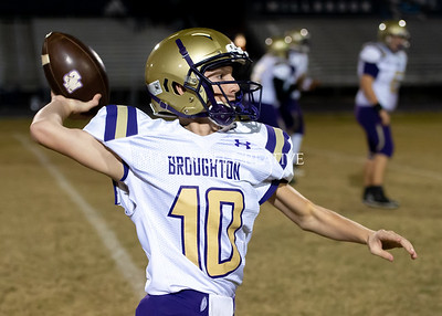 Broughton JV football at Millbrook. November 7, 2019. D4S_6280