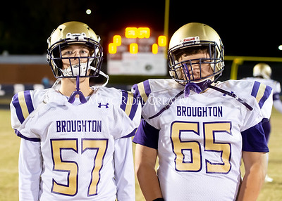 Broughton JV football at Millbrook. November 7, 2019. D4S_6249