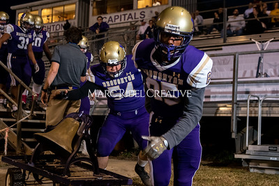 Broughton varsity football vs Cardinal Gibbons. Band and Dance Team Senior Night. October 25, 2019. MRC_3613