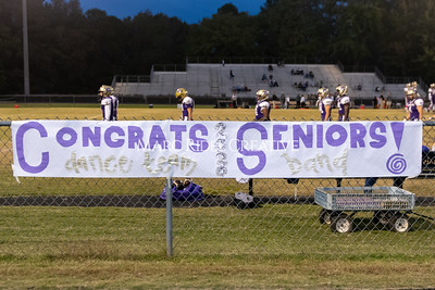 Broughton varsity football vs Cardinal Gibbons. Band and Dance Team Senior Night. October 25, 2019. MRC_3583