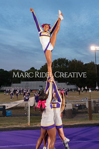 Broughton varsity football vs Cardinal Gibbons. Band and Dance Team Senior Night. October 25, 2019. MRC_3533