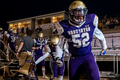 Broughton varsity football vs Cardinal Gibbons. Band and Dance Team Senior Night. October 25, 2019. MRC_3622