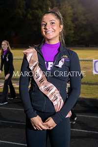 Broughton varsity football vs Cardinal Gibbons. Band and Dance Team Senior Night. October 25, 2019. MRC_3590