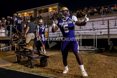 Broughton varsity football vs Cardinal Gibbons. Band and Dance Team Senior Night. October 25, 2019. MRC_3608