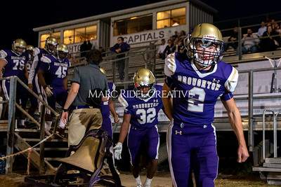 Broughton varsity football vs Cardinal Gibbons. Band and Dance Team Senior Night. October 25, 2019. MRC_3624