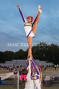 Broughton varsity football vs Cardinal Gibbons. Band and Dance Team Senior Night. October 25, 2019. MRC_3534