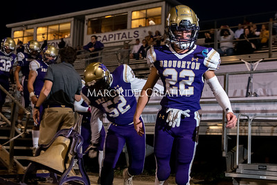 Broughton varsity football vs Cardinal Gibbons. Band and Dance Team Senior Night. October 25, 2019. MRC_3621