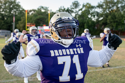 Broughton football vs Enloe. Homecoming. October 10, 2019. MRC_2851