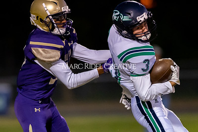 Broughton JV football vs Leesville. October 17, 2019. D4S_4102