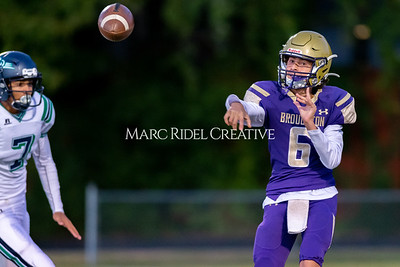 Broughton JV football vs Leesville. October 17, 2019. D4S_4064