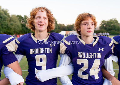Broughton JV football vs Leesville. October 17, 2019. D4S_4024
