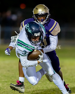 Broughton JV football vs Leesville. October 17, 2019. D4S_4106