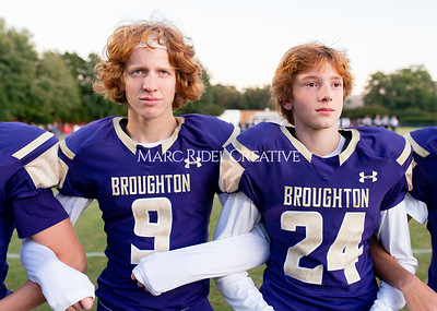 Broughton JV football vs Leesville. October 17, 2019. D4S_4020