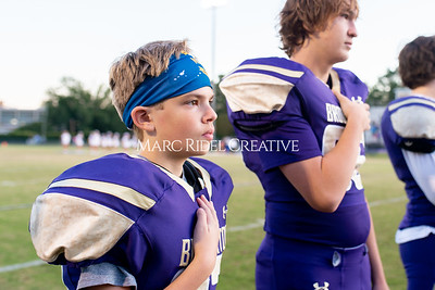 Broughton JV football vs Leesville. October 17, 2019. D4S_4015