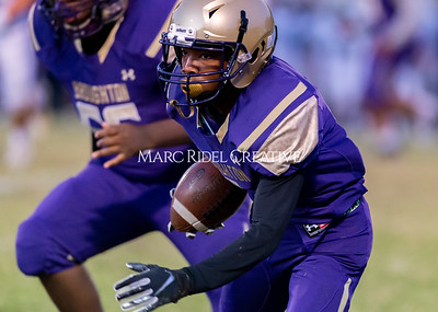 Broughton JV football vs Leesville. October 17, 2019. D4S_4066