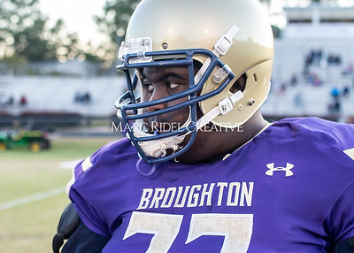 Broughton JV football vs Leesville. October 17, 2019. D4S_3993