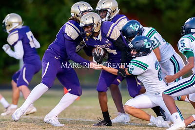 Broughton JV football vs Leesville. October 17, 2019. D4S_4056