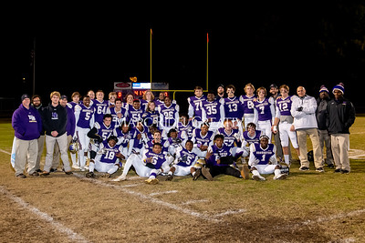 Broughton football vs Millbrook. Senior night. November 8, 2019. MRC_5702