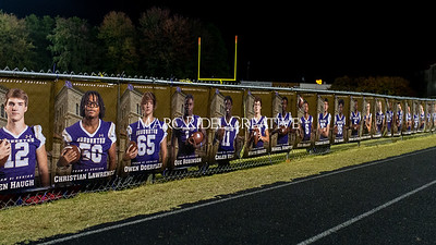 Broughton football vs Millbrook. Senior night. November 8, 2019. D4S_6867
