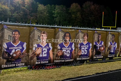 Broughton football vs Millbrook. Senior night. November 8, 2019. D4S_6865