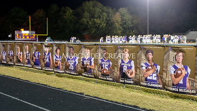 Broughton football vs Millbrook. Senior night. November 8, 2019. D4S_6877