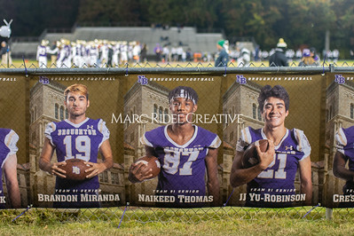 Broughton football vs Millbrook. Senior night. November 8, 2019. D4S_6858