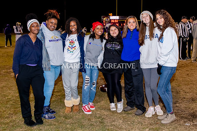 Broughton football vs Millbrook. Senior night. November 8, 2019. MRC_5719