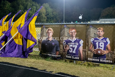Broughton football vs Millbrook. Senior night. November 8, 2019. D4S_6869