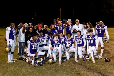 Broughton football vs Millbrook. Senior night. November 8, 2019. MRC_5706