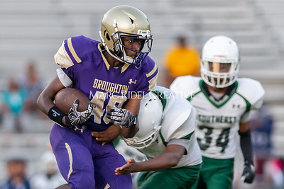 Broughton JV football vs Southeast Raleigh. October 3, 2019. D4S_4216