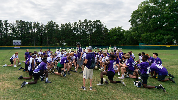 Broughton football practice. May 22, 2019. D4S_8793