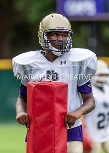 Broughton football practice. August 17, 2021