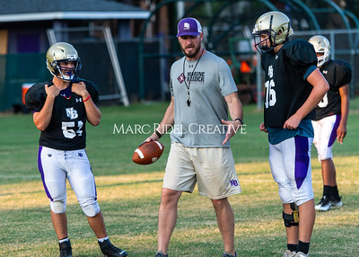 Broughton football practice. August 9, 2021