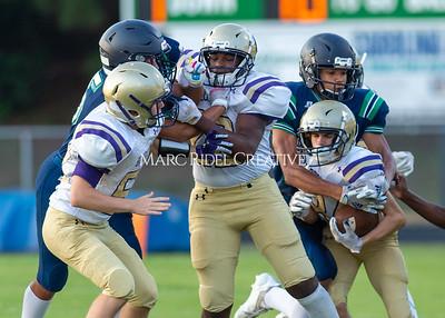 Broughton JV football vs Leesville. September 30, 2021.