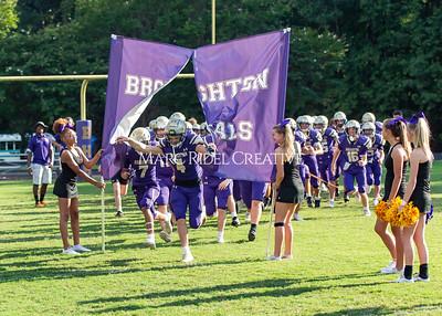Broughton JV football vs Green Hope. August 18, 2021