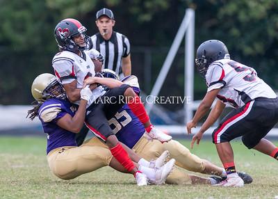 Broughton JV football vs Rolesville. September 16, 2021.