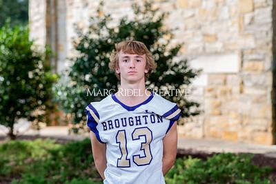 Broughton varsity football headshots. September 20, 2021.