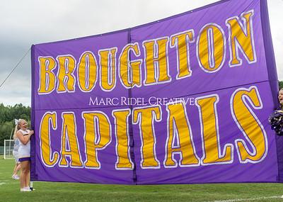 Broughton varsity football at Green Hope. August 20, 2021