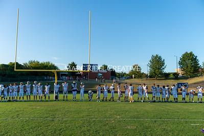 Broughton varsity football vs Heritage. September 3, 2021.